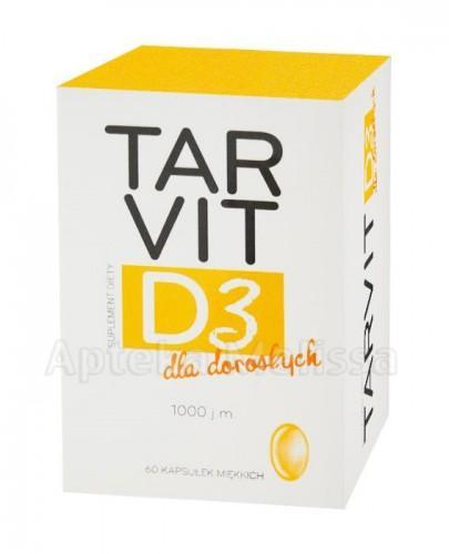 TARVIT D3 Dla dorosłych - 30 kaps. - Apteka internetowa Melissa