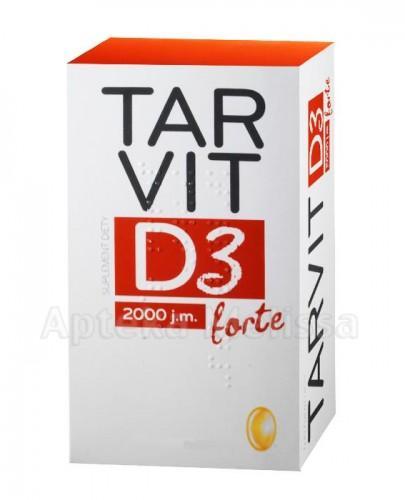 TARVIT D3 FORTE 2000 I.U. - 60 kaps. - Apteka internetowa Melissa