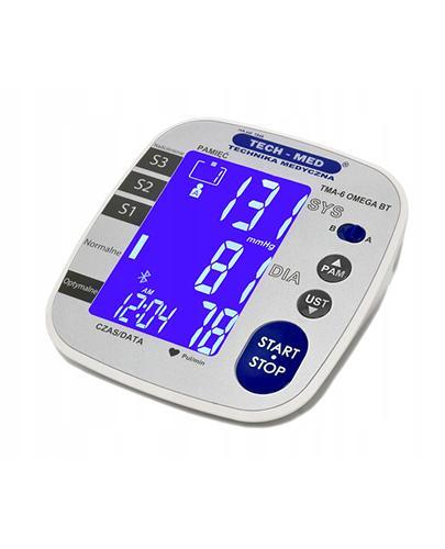 Tech-Med Cyfrowy aparat do pomiaru ciśnienia krwi i tętna TMA-6 OMEGA BT - 1 szt. - cena, opinie, właściwości