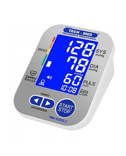 Tech-Med Cyfrowy aparat do pomiaru ciśnienia krwi i tętna TMA-VOICE 2 - 1 szt. - cena, opinie, właściwości - Apteka internetowa Melissa
