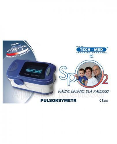 TECH-MED Pulsoksymetr TM-PX20 - 1 szt. - Apteka internetowa Melissa
