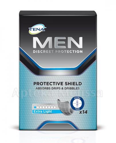 TENA MEN EXTRA LIGHT Wkłady anatomiczne dla mężczyzn - 14 szt. - Apteka internetowa Melissa
