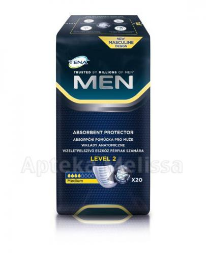 TENA MEN LEVEL 2 Wkłady anatomiczne - 20 szt.