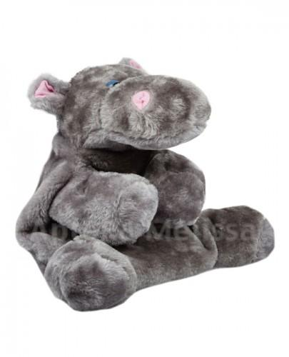 SANITY Termofor gumowy w pokrowcu hipopotam 0,7 l - 1 szt. - Apteka internetowa Melissa