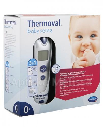 THERMOVAL BABY SENSE Termometr na podczerwień - 1 sztuka - pomiar w 3 sekundy - cena, opinie, stosowanie - Apteka internetowa Melissa