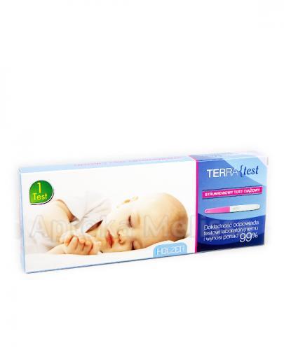 3591f566aee53a TERRA TEST Strumieniowy test ciążowy - 1 szt => Apteka-Melissa.pl
