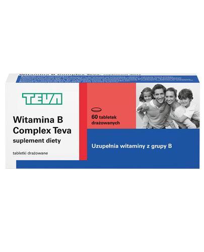 TEVA Witamina B Complex - 60 tabl. Niedobory witamin z grupy B. - Apteka internetowa Melissa