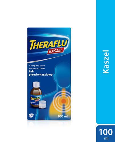 THERAFLU KASZEL 0,15% Syrop na suchy kaszel - 100 ml - Apteka internetowa Melissa