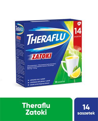 THERAFLU ZATOKI Lek na chore zatoki - 14 sasz.