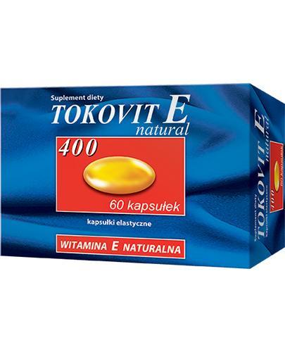 TOKOVIT E400 NATURAL - 60 kaps. - Apteka internetowa Melissa