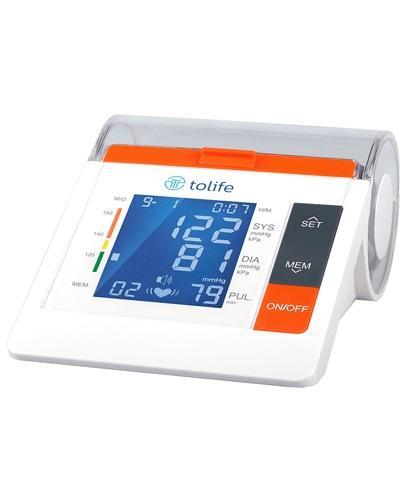 TOLIFE Ciśnieniomierz elektroniczny naramienny PG-800B10, kolor biały - 1 szt. - cena, opinie, instrukcja obsługi  - Apteka internetowa Melissa