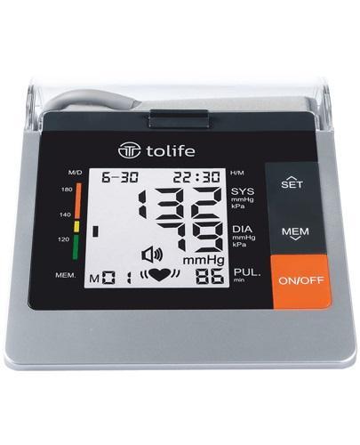 TOLIFE Ciśnieniomierz elektroniczny naramienny PG-800B10, kolor czarny - 1 szt. - cena, opinie, instrukcja obsługi