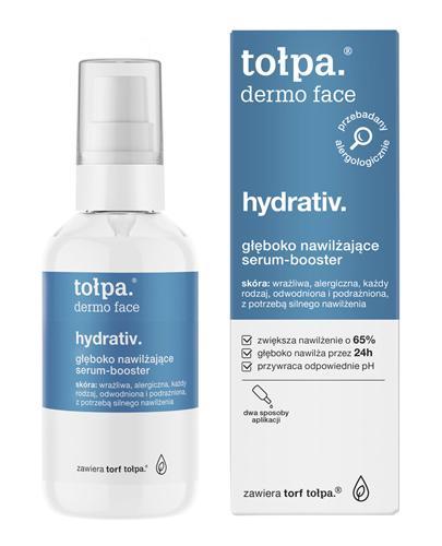 TOŁPA DERMO FACE HYDRATIV Głęboko nawilżające serum-booster - 75 ml - cena, stosowanie, opinie