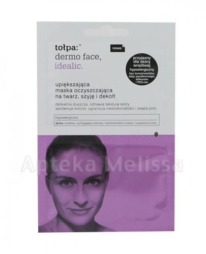 TOŁPA DERMO FACE Idealic Upiększająca maska oczyszczająca na twarz, szyję i dekolt - 2x6 ml - Apteka internetowa Melissa