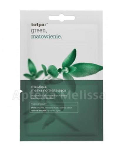 TOŁPA GREEN Maska matująca normalizująca - 2 x 6 ml  - Apteka internetowa Melissa