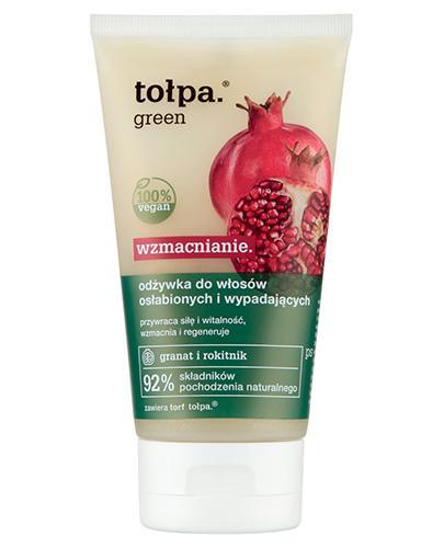 TOŁPA GREEN Wzmacniająca odżywka do włosów osłabionych - 150 ml - Apteka internetowa Melissa