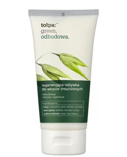 TOŁPA GREEN Regenerująca odżywka do włosów zniszczonych - 150 ml - Apteka internetowa Melissa