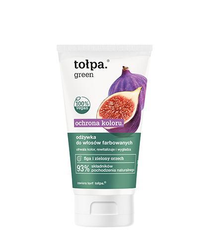 TOŁPA GREEN Rewitalizująca odżywka do włosów farbowanych - 150 ml