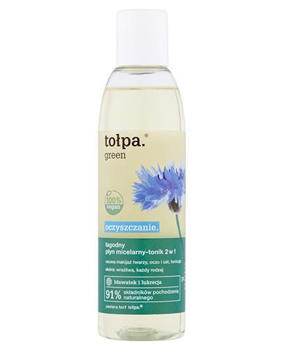 TOŁPA GREEN Łagodny płyn micelarny do mycia twarzy i oczu - 200 ml  - Apteka internetowa Melissa