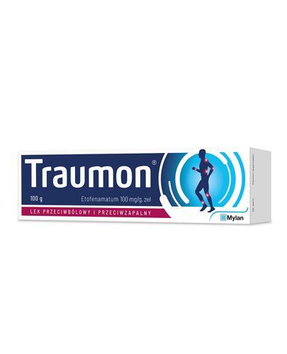 TRAUMON żel o działaniu przeciwbólowym i przeciwzapalnym 100 mg/g, 100 g  - cena, opinie, ulotka