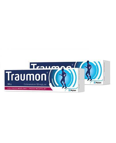 TRAUMON żel o działaniu przeciwbólowym i przeciwzapalnym 0,1 g/g - 2 x 100 g