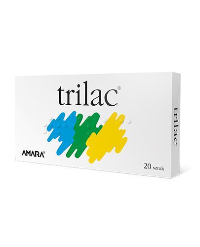 TRILAC probiotyk - 20 kaps. Lek probiotyczny Data ważności: 2019.11.30 - Apteka internetowa Melissa