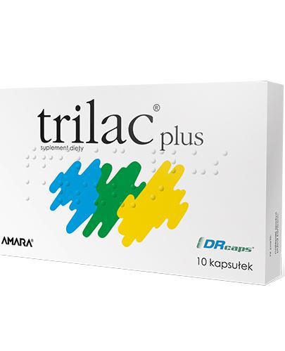 TRILAC PLUS - 10 kaps. Data ważności 2021.10.30 - Apteka internetowa Melissa