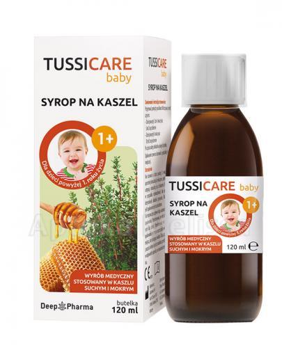 TUSSICARE BABY Syrop - 120 ml Data ważności 2021.07.31 - Apteka internetowa Melissa