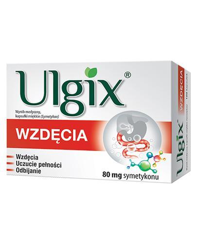ULGIX WZDĘCIA - 100 kaps. - Drogeria Melissa