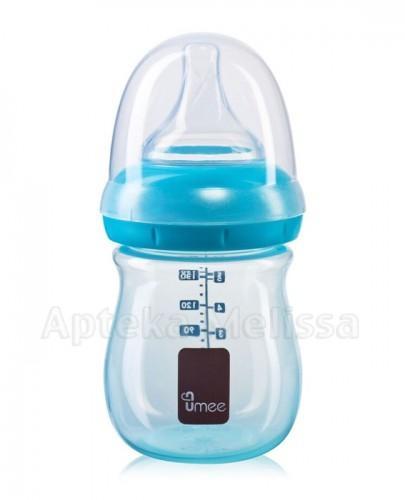 UMEE Antykolkowa butelka do karmienia niebieska 0m+ - 160 ml