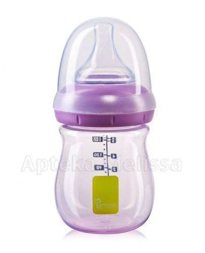 UMEE Antykolkowa butelka do karmienia fioletowa 0m+ - 160 ml - Apteka internetowa Melissa