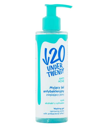 UNDER TWENTY Myjący żel antybakteryjny zwężający pory - 190 ml - Anti Acne - cena, opinie, właściwości