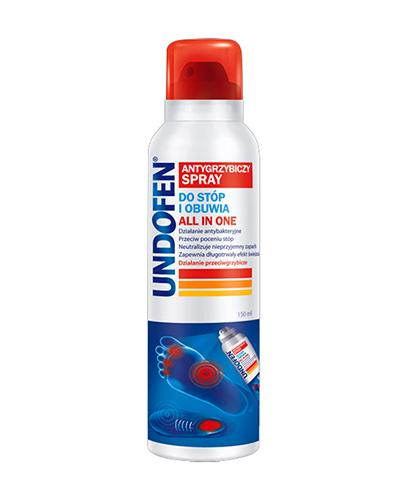 UNDOFEN Antygrzybiczy spray do stóp i obuwia All in One - 150 ml