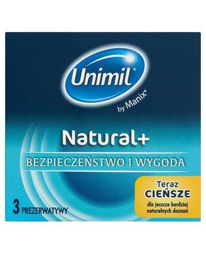UNIMIL NATURAL Prezerwatywy - 3 szt. - Apteka internetowa Melissa