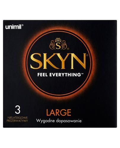 UNIMIL SKYN LARGE Prezerwatywy - 3 szt. - Apteka internetowa Melissa
