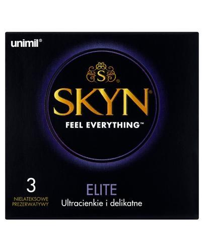 UNIMIL SKYN ELITE Prezerwatywy ultracienkie - 3 szt. - Apteka internetowa Melissa