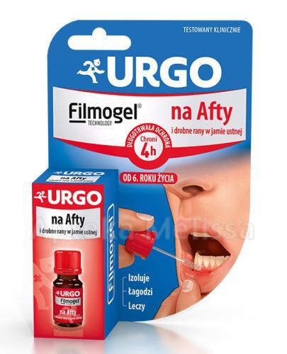 URGO Na afty i drobne rany w jamie ustnej - 6 ml - Apteka internetowa Melissa