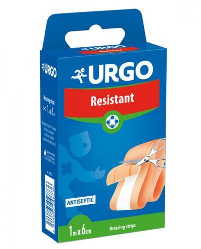 URGO RESISTANT Wytrzymały plaster z opatrunkiem  1m x 6cm - 1 szt. - Apteka internetowa Melissa