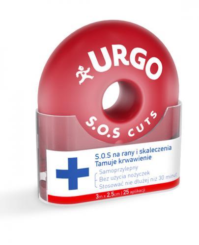 URGO S.O.S CUTS Opatrunek na rany i skaleczenia - 1 szt. - Apteka internetowa Melissa