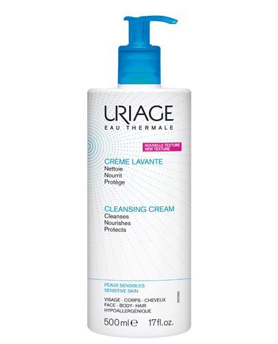 URIAGE CREME LAVANTE Krem myjacy do skóry wrażliwej - 500 ml - Drogeria Melissa