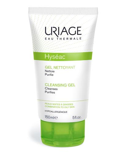 URIAGE HYSEAC Żel oczyszczający do twarzy dla cery mieszanej, tłustej i trądzikowej - 150 ml - Drogeria Melissa