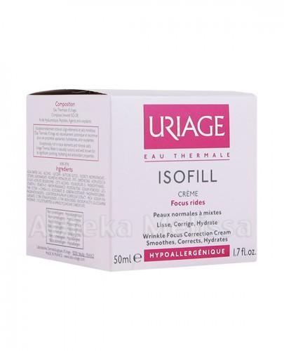 URIAGE ISOFILL Krem korygujący zmarszczki do skóry normalnej i mieszanej - 50 ml - Apteka internetowa Melissa