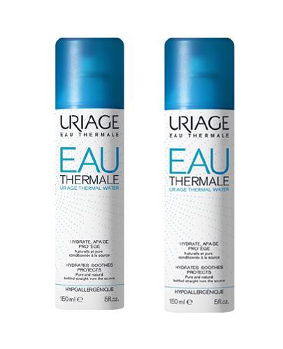 Uriage Woda termalna  - 2 x 150 ml - cena, opinie, właściwości