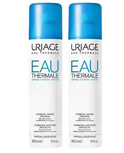 Uriage Woda termalna  - 2 x 300 ml - cena, opinie, właściwości