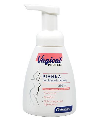 VAGICAL Protect Pianka do higieny intymnej  - 250 ml - cena, opinie, wskazania - Apteka internetowa Melissa