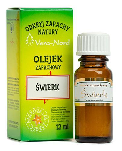 VERA-NORD Olejek zapachowy świerk - 12 ml - cena, opinie, właściwości - Apteka internetowa Melissa