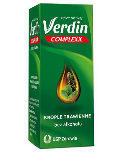 VERDIN COMPLEXX Krople trawienne - 40 ml - Apteka internetowa Melissa