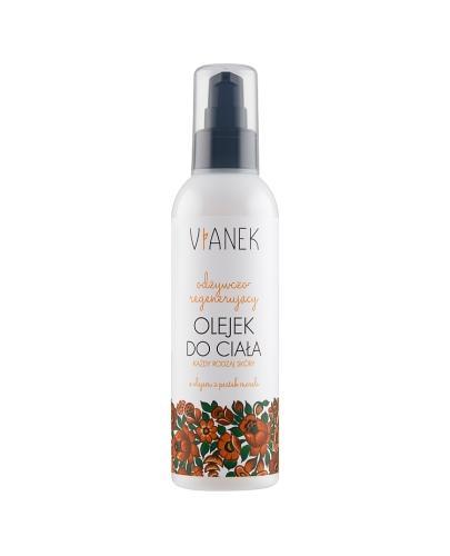VIANEK Odżywczo-regenerujący olejek do ciała - 200 ml