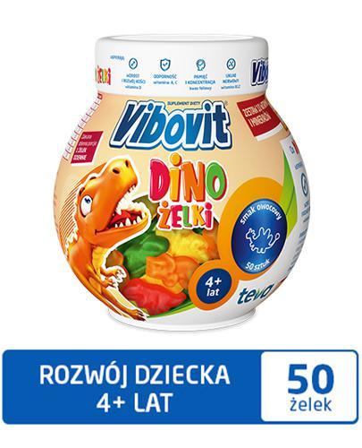 VIBOVIT Dino żelki - 50 szt.