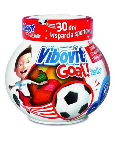 VIBOVIT GOAL Żelki o smaku owocowym - 50 szt.